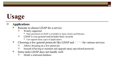 ldap tutorial powerpoint ad ldap