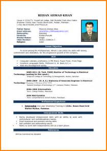 How To Make A Cv Template On Microsoft Word 8 curriculum vitae format in ms word mail clerked