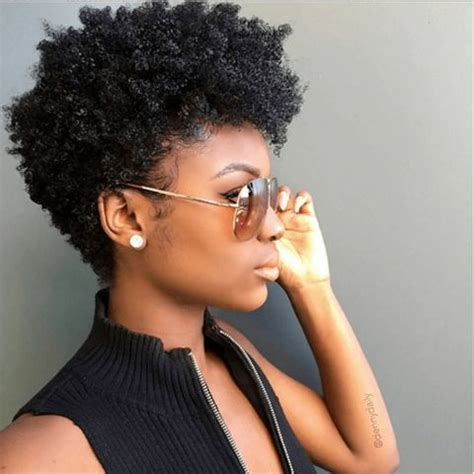 tapered cut on 4c hair super fly tapered cut curls ig dennydaily naturalhairmag