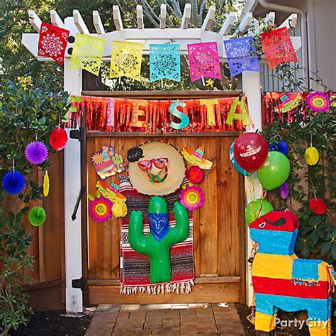 mexican home decor ideas pics decoration ideas fiesta entrance decorating ideas party city party city