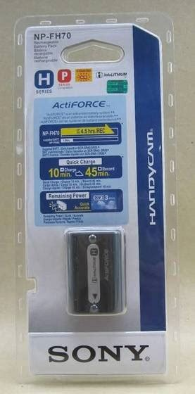 Sony Np Fh50 H Series Info Lithium Battery Pack Limited new sony np fh70 infolithium h series battery id 3965625 product details view new sony