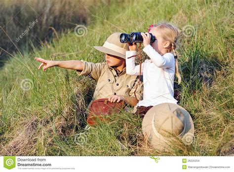 1431702064 on safari a young explorer s safari kids stock images image 26220254