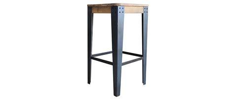 metal bar stool zoe kitchen 65cm industrial wood chair madison 65cm industrial wood and metal stool miliboo