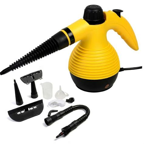 Steam Cleaning by Multi Purpose Handheld Steam Cleaner 1050w Portable