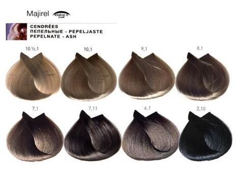 majirel l oreal professionnel3 irise hair color charts majirel l oreal professionnel2 cenere loreal hair color