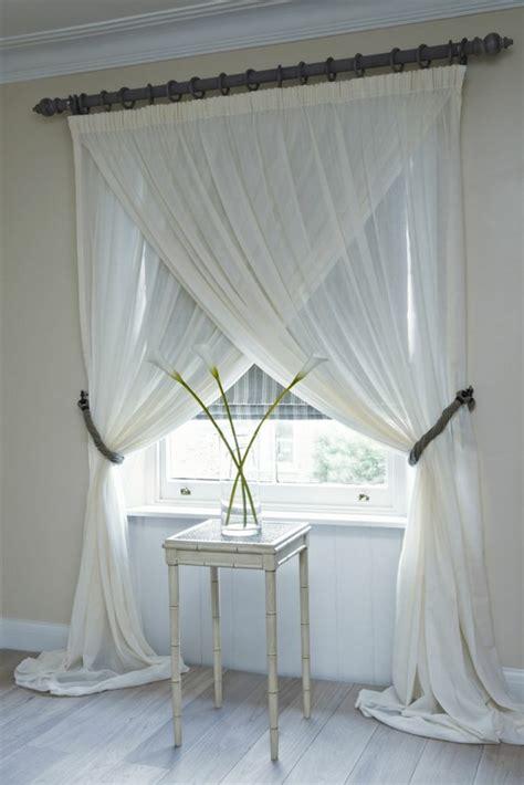 kreative gardinen ideen