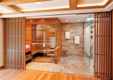 sauna bathroom the envy worthy home spa boston design guide