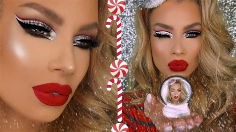 makeup tutorial in french christmas glam holiday makeup tutorial nikki french