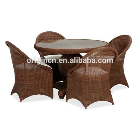 glass top table and chairs rattan outdoor home