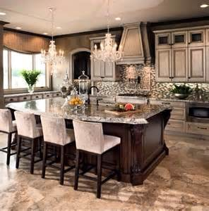Decorating Ideas For Kitchen Islands 17 Best Images About Elegant Kitchen Designs On Pinterest