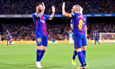 barcelona liga spanyol hasil barcelona vs malaga liga spanyol 22 10 2017