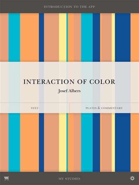 interaction of color interaction of color