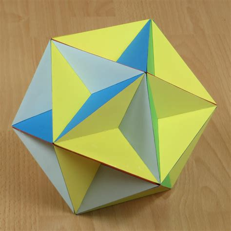 Paper Great Dodecahedron - origami dodecahedron choice image craft decoration ideas