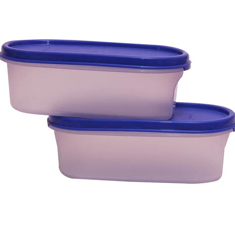 Tupperware Modular Mates Oval 1 2 tupperware modular mates oval 1 500 ml set of 2