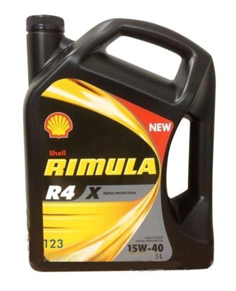 Shell Rimula R4 X Sae 15w 40 Liter shell rimula r4 x 15w 40 5 liter de olie concurrent