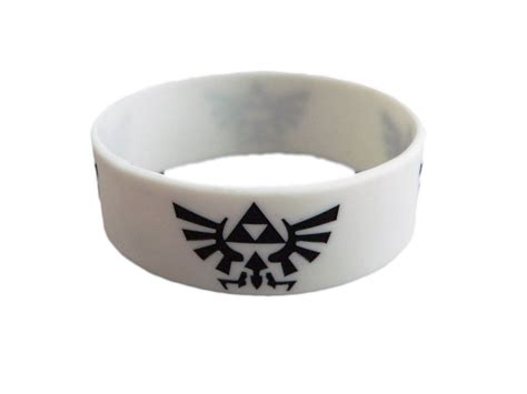 The Legend Of Rubber legend of logo silicone rubber wrist band