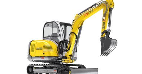 Alat Berat Excavator wacker neuson excavators 3503 alat berat