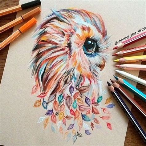cool colored pencil drawings 40 creative and simple color pencil drawings ideas