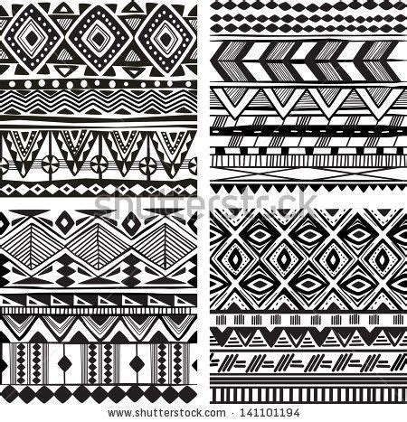 tribal pattern words fashion vector background words cloud 146434202
