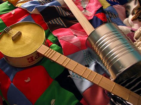 How To Make Handmade Musical Instruments - 13 musical instruments for