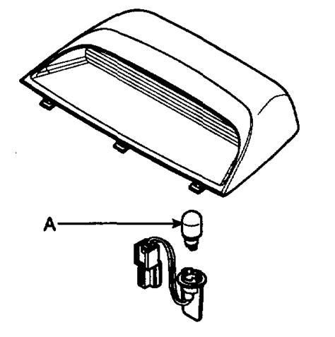 2010 hyundai sonata 3rd brake light replacement how do i change the third brake light on a 2007 hyndiu