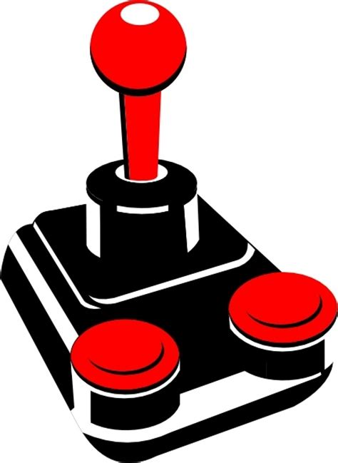 images of christmas joystick retro joystick clip art free vector in open office drawing