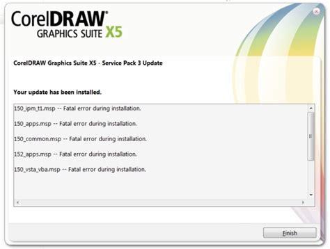 corel draw x5 runtime error error installing sp 3 coreldraw graphics suite x5