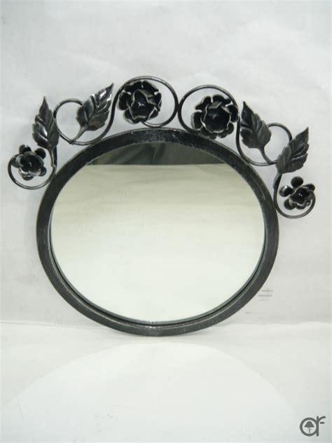 cornici in ferro specchio da parete con cornice in ferro