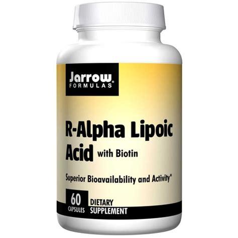 r ala supplement jarrow formulas r alpha lipoic acid 100 mg 60 capsules