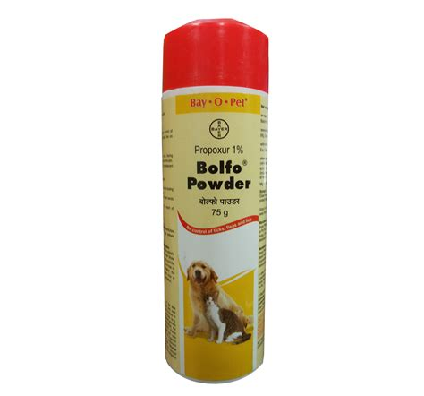 Bayer Bolfo Anti Tick Flea Powder For Cat 75 Gm Dogspot Pet