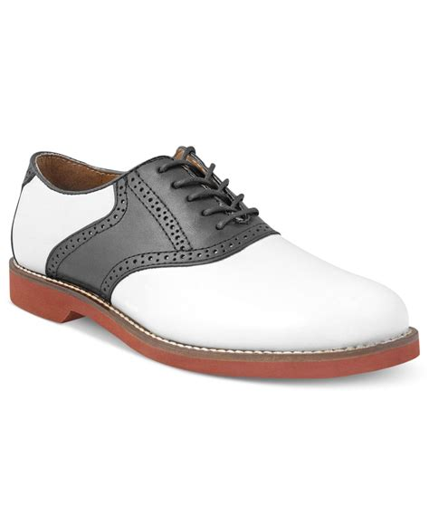Saddle Shoes by G H Bass Co Bass Burlington Plain Toe Saddle Shoes In