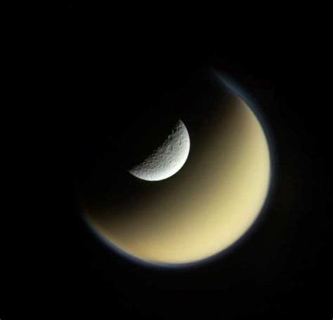 saturns largest moons rhea and titan saturn s largest moons wordlesstech