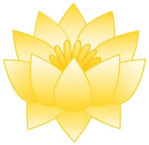 Clipart Lotus Flower Yellow Lotus Flower Free Clip