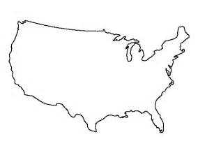 Usa Outline With States by United States Pattern Use The Printable Outline For Crafts Creating Stencils Scrapbooking
