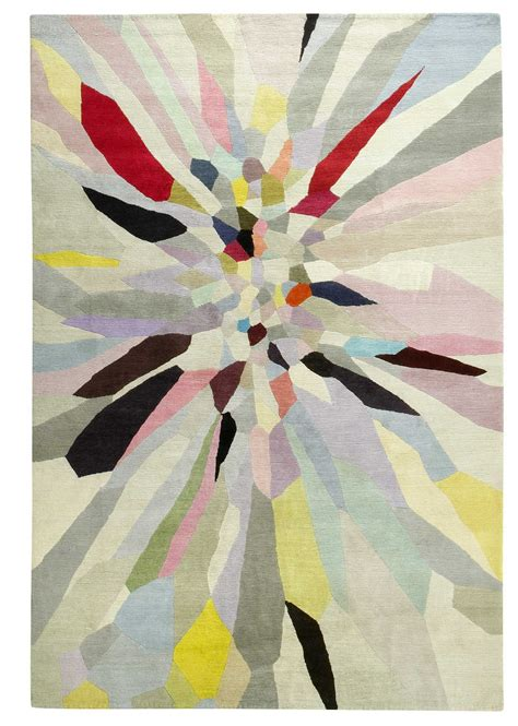 Zap By Fiona Curran Wool Contemporary Hand Knotted Rug Company