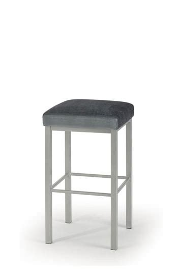 Square Backless Counter Stools by Trica S Day Modern Square Seat Backless Counter Stool