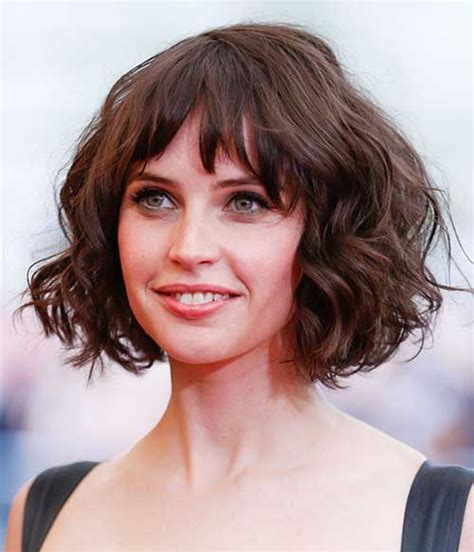 piecey haircuts for 20 chic and beautiful curly bob hairstyles we adore