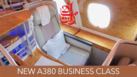 emirates q class short haul luxury emirates a380 brand new business class