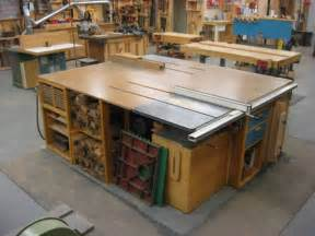 Workshop Bench For Sale Tablesaw Outfeed Amp Wings For Small Garages