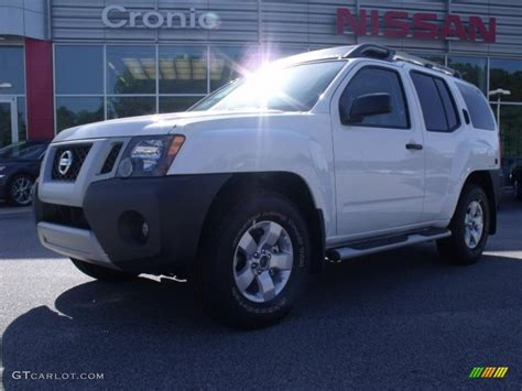 2010 avalanche white nissan xterra s 32098592 gtcarlot car color galleries