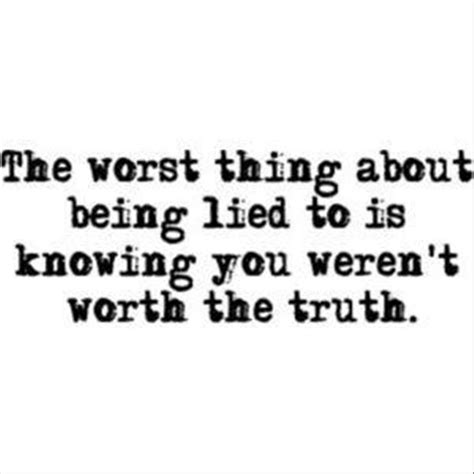 quotes about lying what lies beneath consistent uncertainties
