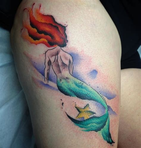 mermaid tattoo ideas watercolor mermaid designs ideas and meaning