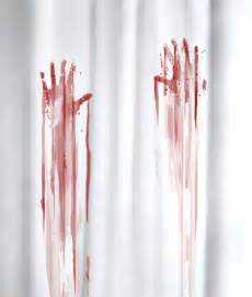 Bathroom Shower Curtains And Matching Accessories by Bloody Bath Accessories Sure To Freak Out Your Houseguests