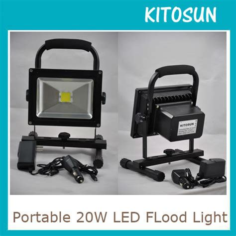 battery operated work light portable rechargeable lithium battery operated 10w led