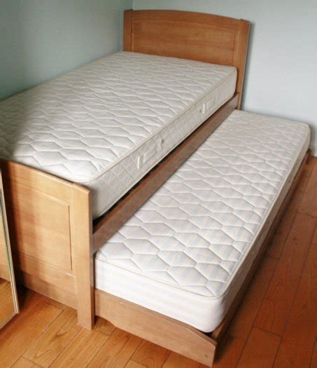 bed with bed underneath single bed with pull out guest bed underneath for sale in