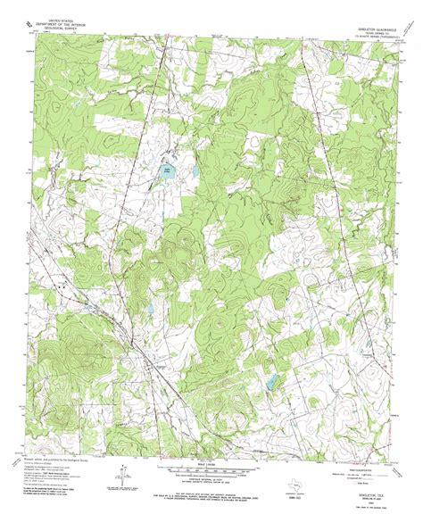 usgs topo maps texas singleton topographic map tx usgs topo 30095f8