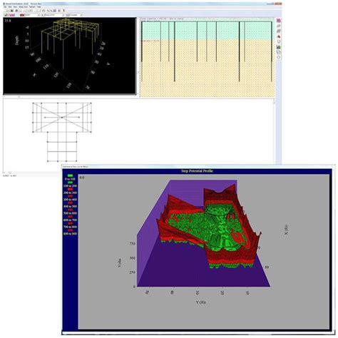 grid pattern software ground grid systems software ground grid design ieee