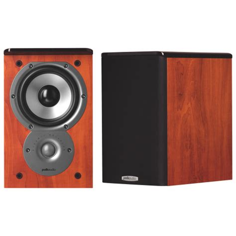 polk audio bookshelf speaker tsi100 cherry best buy