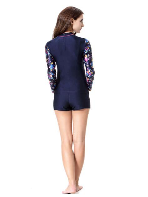 Set Sleeve Top 2pcs swimsuit beachwear muslim swim swimwear