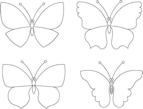 moldes para mariposas de papel moldes para hacer mariposas de fieltro
